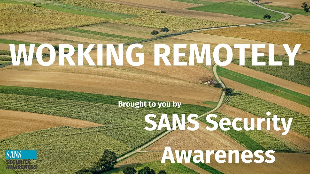 Secure Remote Working