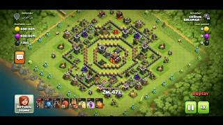 CLOUDING ALLMOST FIX LOOT:REPLAY:CLASH OF CLANS INDIA:CHIKUN 3.O
