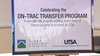 Alamo Colleges District, UTSA announce new co-enrollment program