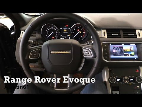 2017 Range Rover Evoque - interior Review