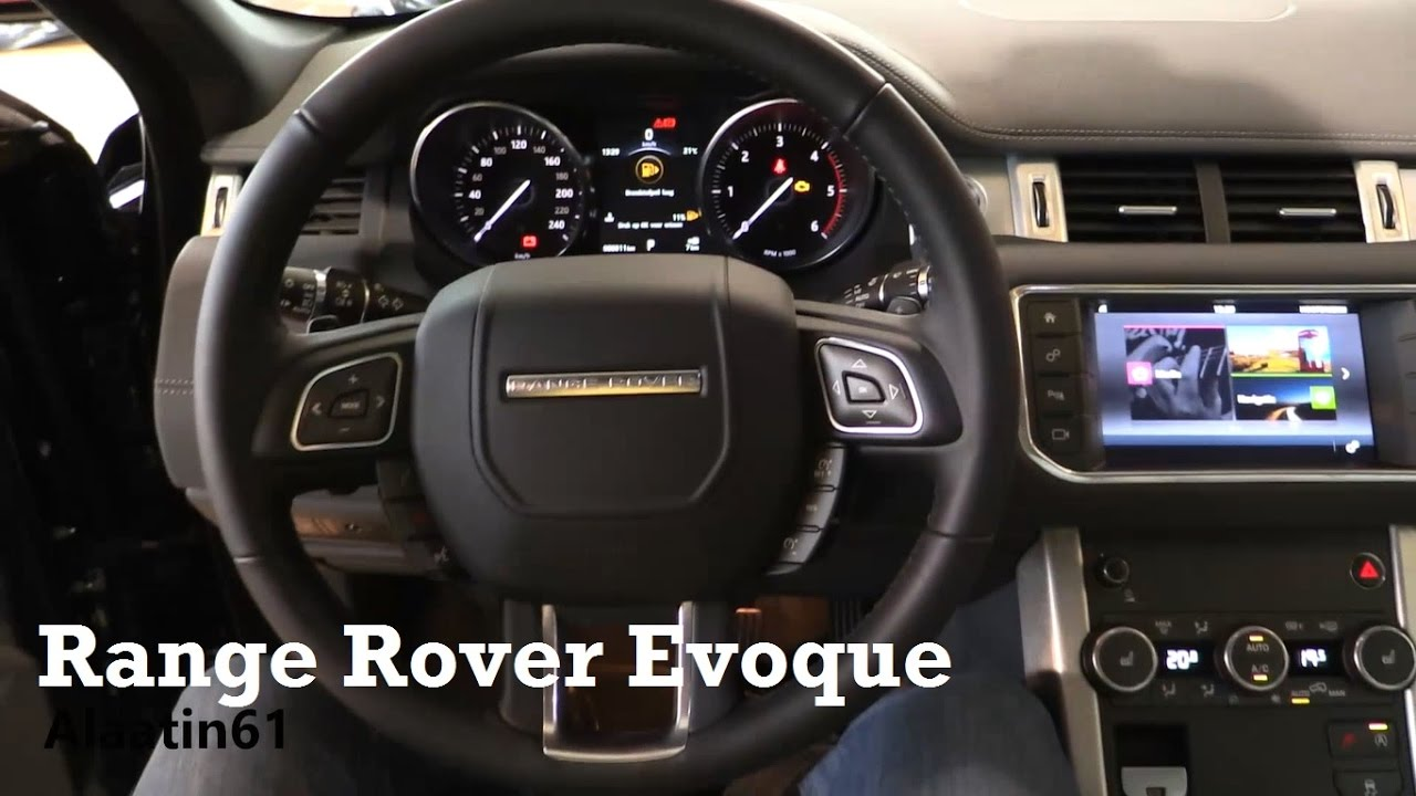 2017 range rover evoque interior review youtube
