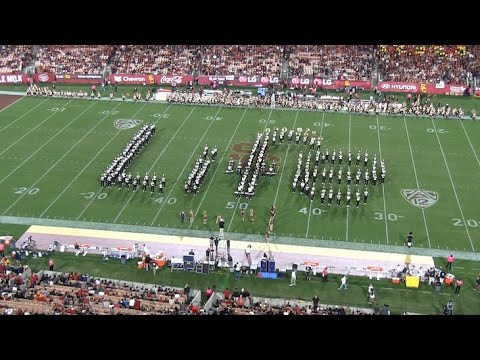 Cal Band Life Show ft. Adventure of a Lifetime by Coldplay