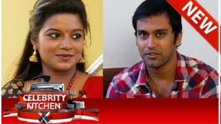 Actress Apsara and Actor Tilak in Celebrity Kitchen (02/11/2014)