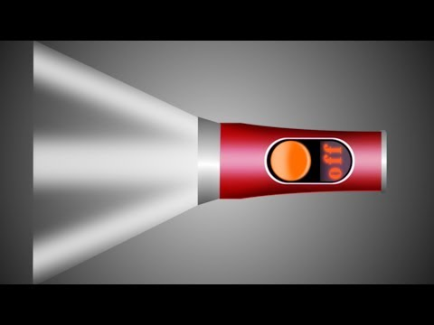 GIMP TUTORIAL/ DESIGN LOGO OF FLASH LIGHT/LOGO 3D