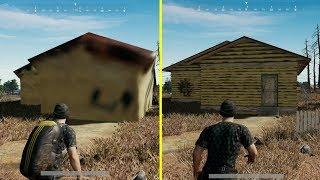 PUBG Xbox One S vs Xbox One X Graphics Comparison