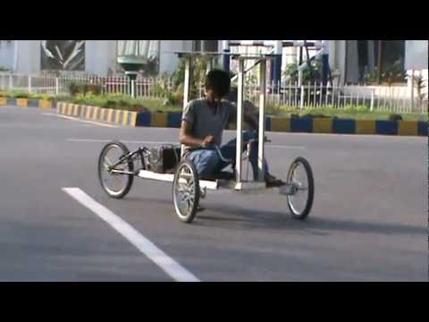 Solar powered vehicle.... Pakistani talent