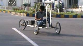Solar powered vehicle.... Pakistani talent