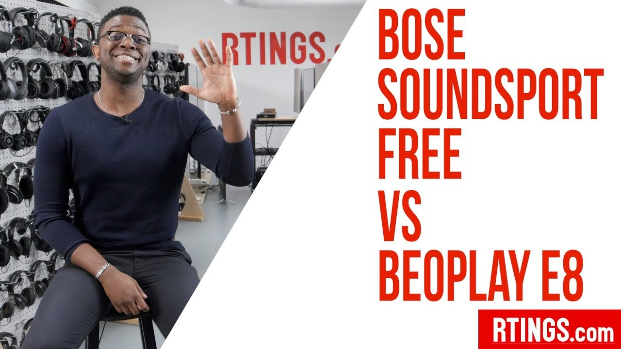 Bose Soundsport Free Vs Beoplay E8 Headphones Review Rtings Com Youtube