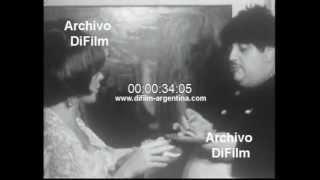 DiFilm - Eduardo Bergara Leumann en la Botica del Angel (1966)
