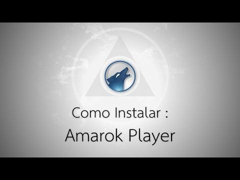 Como Instalar Amarok no Linux, Player Gratuito Com Letras [Debian, Ubuntu e Outros]