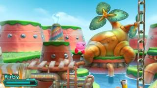 Citra 3DS Kirby Planet Robobot HD Fullscreen (New UnOfficial N3DSBuild+Line Filtering+New Audio)