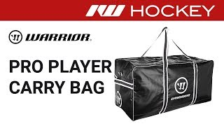 Warrior Pro Hockey Bag Review