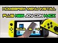 How to install HomeBrew Menu on Nintendo Switch + JoyCon Tin Foil Trick 1.0.0-5.1.0 firmware RCM