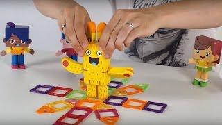 Поиграйка с Егором - Друзья Йоко играют в магнитный конструктор(Поиграйка с Егоркой - Друзья Йоко играют в магнитный конструктор. Обучающая, развивающая программа с игрушк..., 2016-06-28T08:48:14.000Z)