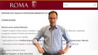 I cittadini residenti e non in roma possono richiedere dal 1 ottobre 2019 senza prenotazione presso municipi, certificati anagrafici di stat...