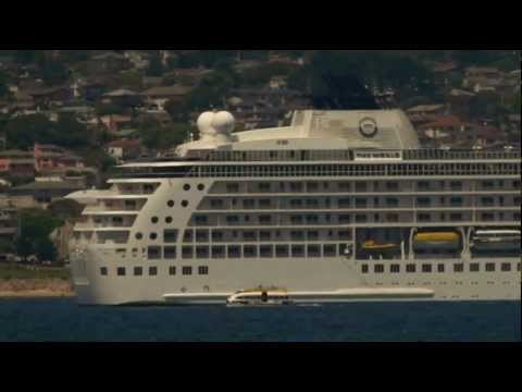 "Cruise Ship ""The World"" Calls on Monterey Harbor"
