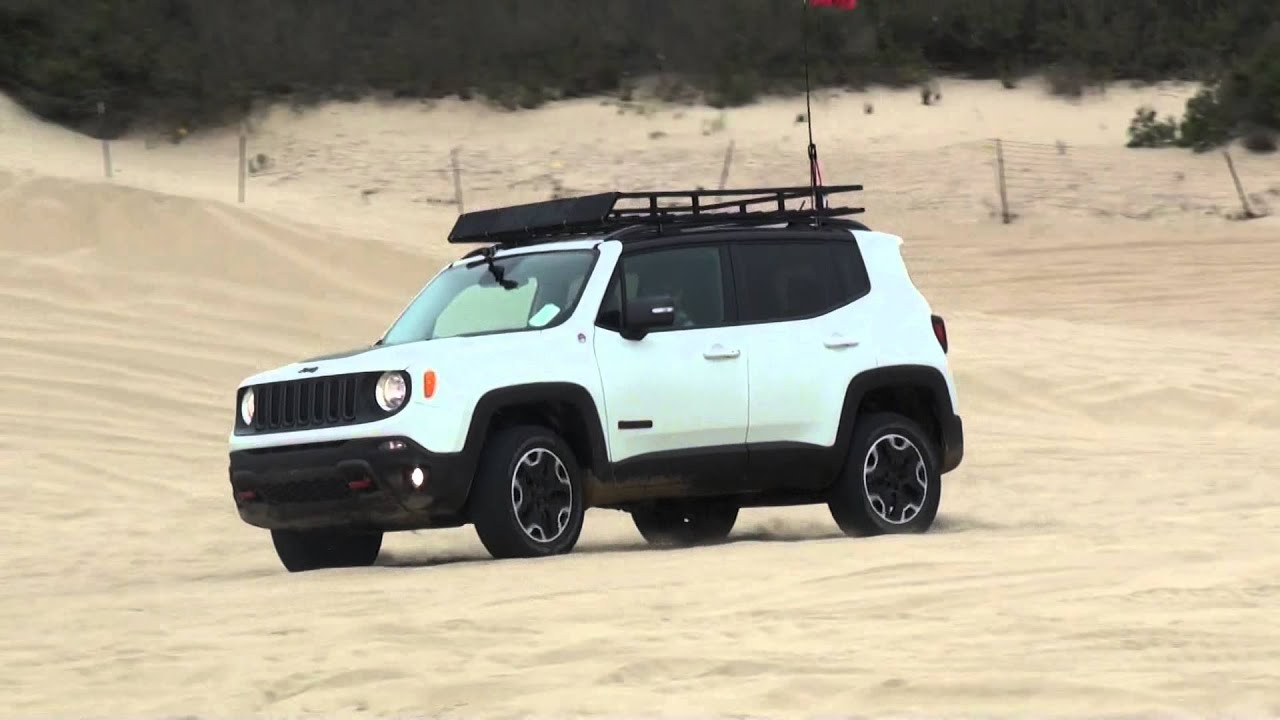Jeep Renegade Roof >> 2015 Jeep Renegade Trailhawk Pismo Dunes - YouTube