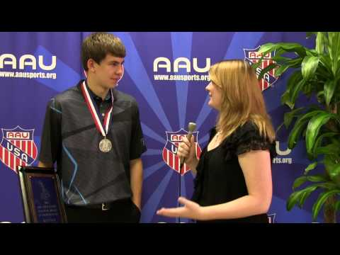 2014 AAU High School Sullivan Award Winner - Nathan Sherfey