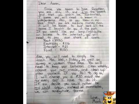 Mom\u0027s Tough Love Letter To Her 13 Year Old Teenager (My Thoughts - love letter