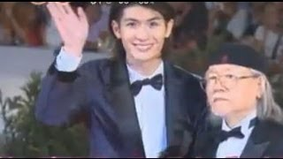 三浦春馬 映画『キャプテンハーロック』公式上映 第70回「ベネチア国際映画祭」 Haruma Miura