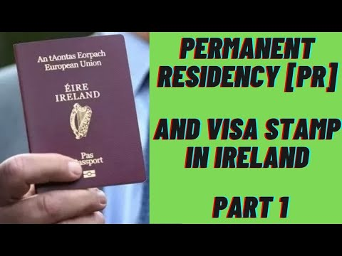 Indians In Ireland | Permanent Residency[PR] And Visa Stamp In Ireland - Part 1