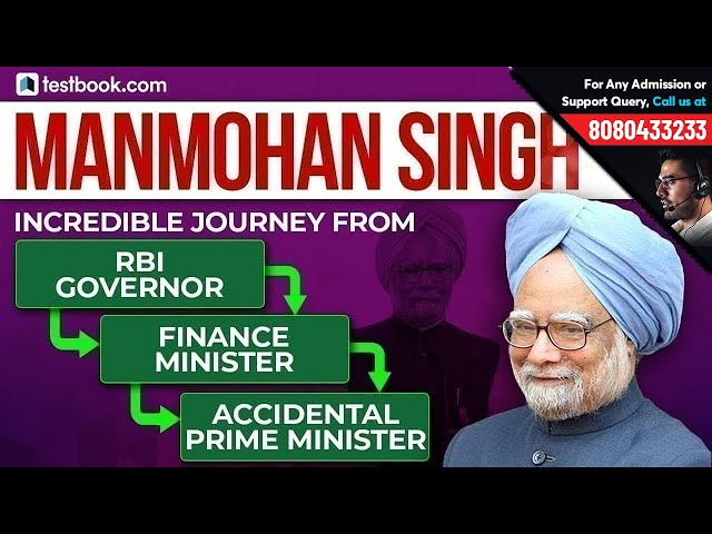 Exam Related Facts about Dr. Manmohan Singh | Biggest Achievements | Must Watch for RRB, Bank & SSC