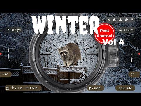 Winter Pest Control - Vol 4 - EDgun Leshiy, Leyla, R5M and ATN X Sight 4K Pro