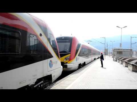 Final test for EMU and DMU units in Macedonian railroads