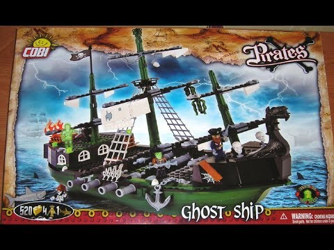 Cobi Pirates Review: Ghost Ship Set 6017