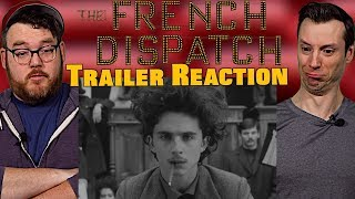 Every Frame a Painting | The French Dispatch - Trailer Reaction