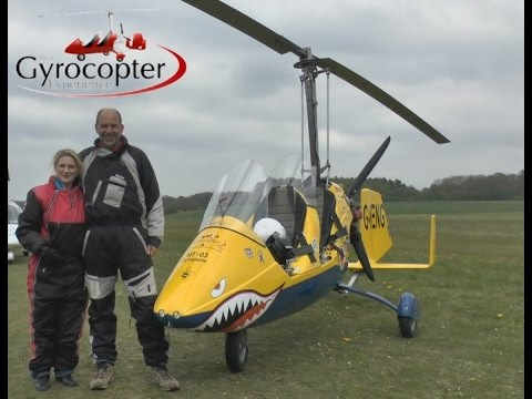 The Gyrocopter Experience at Popham Microlight Fair 2015 (long version)
