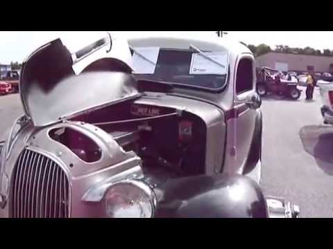 A 1937 & 1951 Plymouth Cars