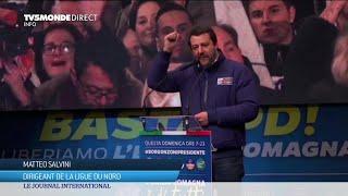Italie : Salvini à la conquête de l'Emilie Romagne