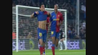 Fc Barcelona Vs Malaga CF  6-0 HD  By ALFREDO MARTINEZ    2008/2009