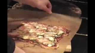 Gourmet Again! - 2 Pizzas: Bbq Chicken & Goat Cheese/spinach