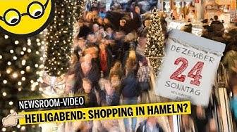 Heiligabend in Hameln: Welche Geschäfte haben geöffnet?