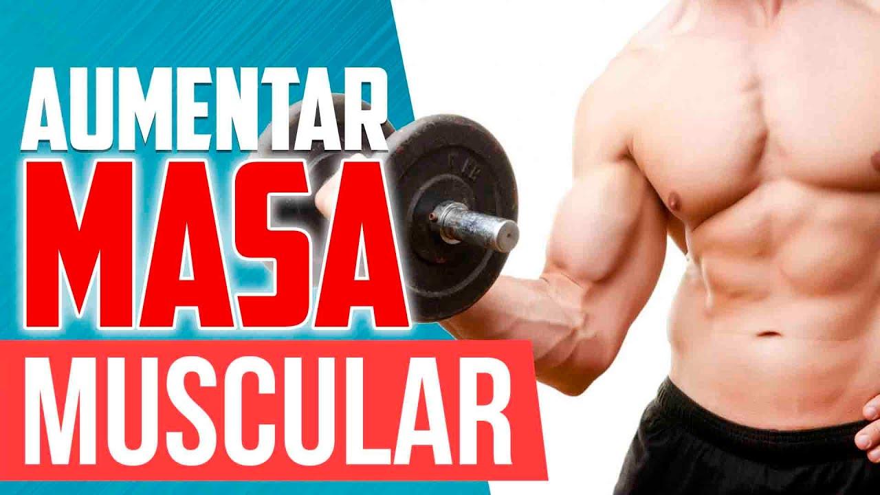 rutina de gym para subir masa muscular