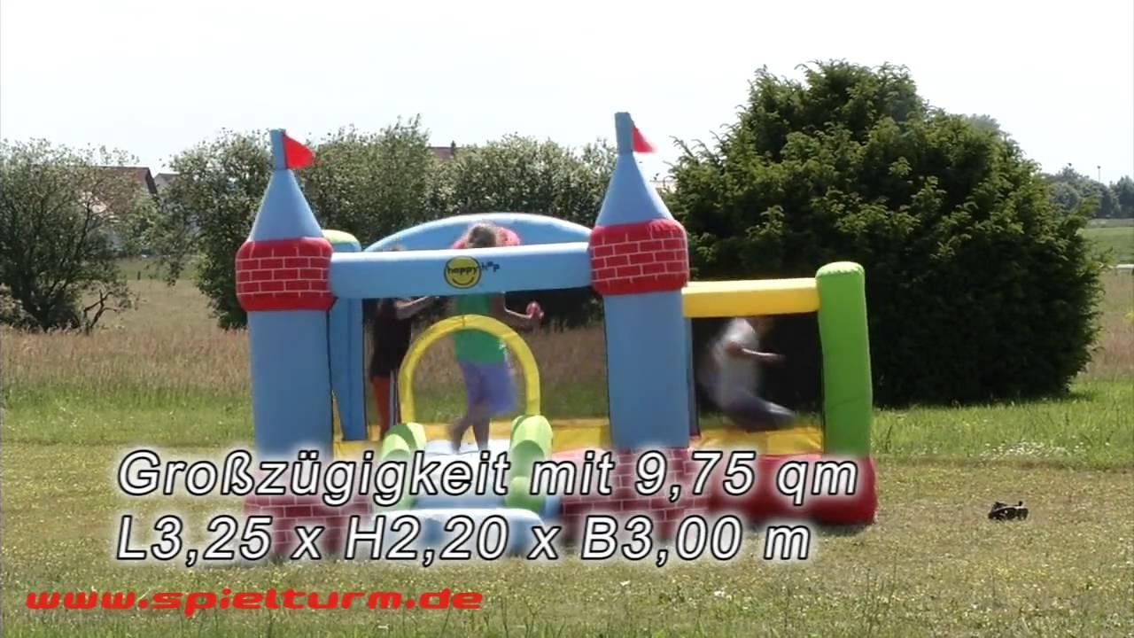 happyhop h pfburg schlo 9 75 m mit rutsche und anbau. Black Bedroom Furniture Sets. Home Design Ideas
