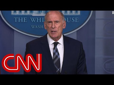 Dan Coats: Russia continuing to interfere