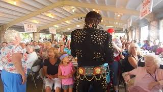 Andy Svrcek - Elvis (Blue Suede Shoes) - Coplay Community Days - August 27, 2017