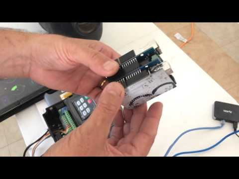 Huanyang VFD wireless control
