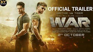 WAR Movie Trailer| Hrithik Vs Tiger Movie Trailer | Hrithik Roshan, Tiger Shroff, Hrithik Vs  Movie,