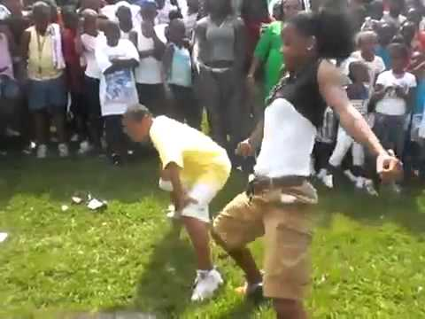 Stick it and roll it dance battle