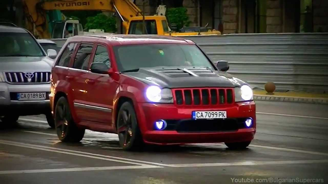 Jeep SRT8 Hennessey Turbo600 w Magnaflow Exhaust  YouTube