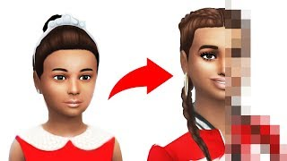 Princess Child to Spoiled Teen - The Sims 4 Glowup