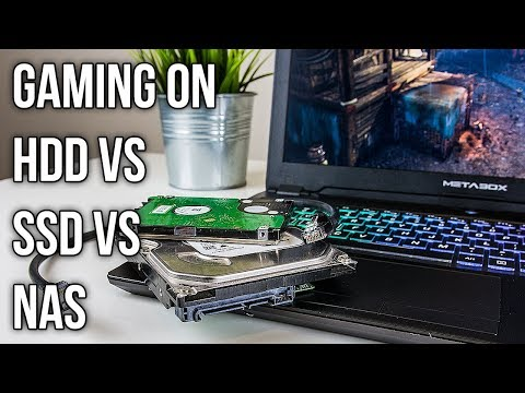 Does Disk Speed Affect Gaming? SSD vs HDD vs NAS Benchmarks