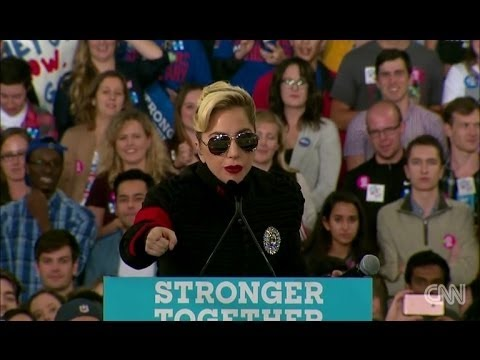 Download FULL: SPEECH  Lady Gaga at Hillary Clinton Rally in Raleigh, North Carolina 11 8 16 #2