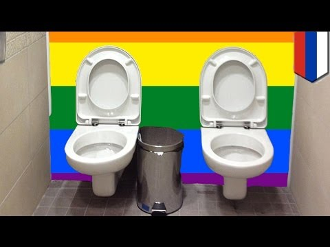 Toilet for two at Winter Olympics in Sochi is awesome