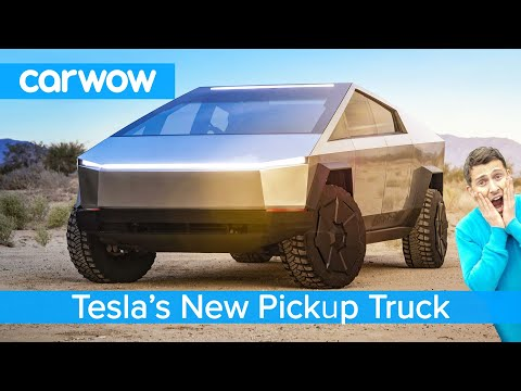 All-new Tesla Pickup Truck 2021 - see why the Cybertruck EV