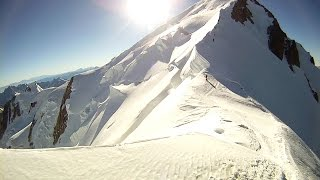 Climbing Mont Blanc - Gouter route HD